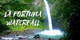 La Fortuna Waterfall in Arenal, Costa Rica
