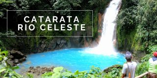 Catarata Rio Celeste and it's Azure Blue Waters